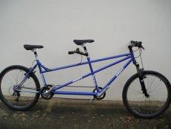 horské tandemové kolo